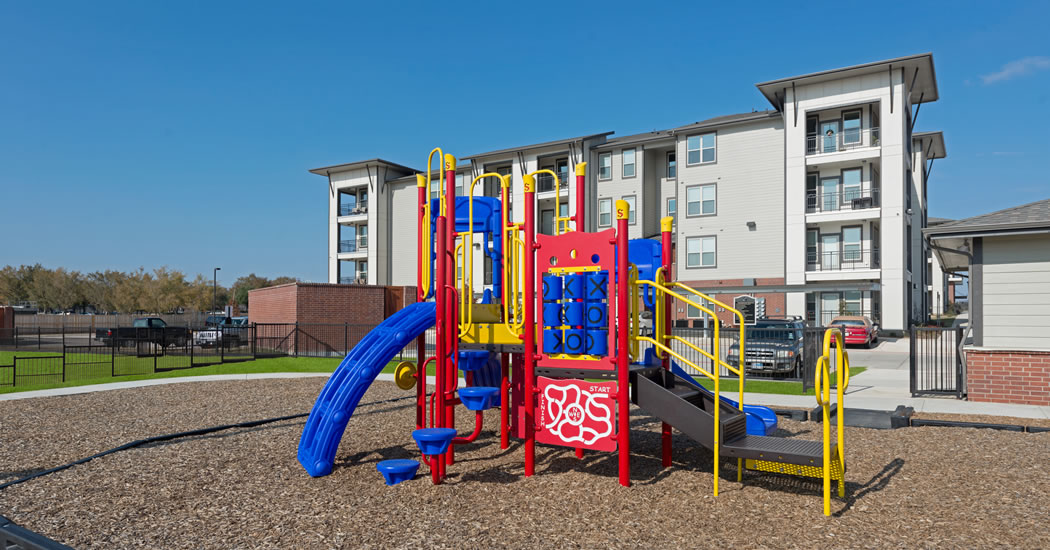 Churchill at Champions Circle playground